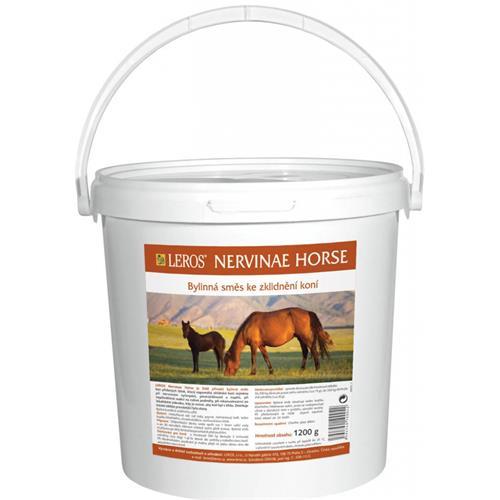 Bylinná směs ke zklidnění koní Leros Nervinae, 1200 g Bylinná směs ke zklidnění koní NERVINAE, LEROS, 1200 gr