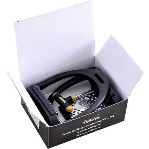 Kloubové plastové třmeny Tekna, černé, pár, 12 cm Kloubové plastové třmeny Tekna, černé, pár, 12 cm