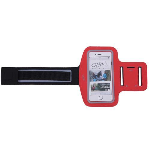 Kapsa na mobil - náramek na ruku QHP - červená Kapsa na mobil - náramek na ruku QHP, červený