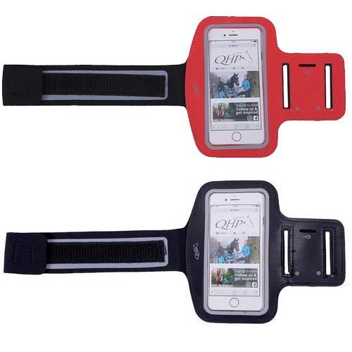 Kapsa na mobil - náramek na ruku QHP - červená Kapsa na mobil - náramek na ruku QHP