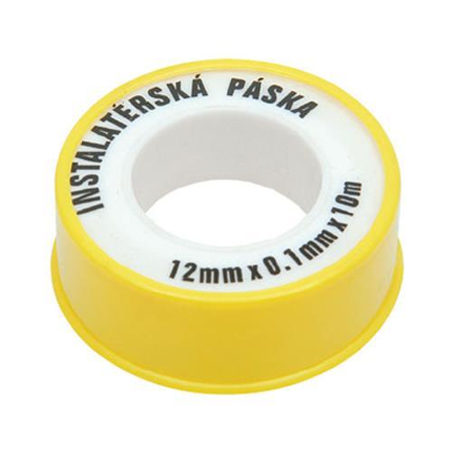 Teflonová těsnící páska na voda 12mm x 10m Teflonová těsnící páska na voda 12mm x 10m