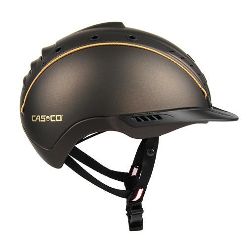 Jezdecká bezpečnostní přilba Casco Mistrall 2 - hnědá, vel. M (55-57) Přilba jezdecká CASCO, MISTRALL 2, hnědá, M 55-57