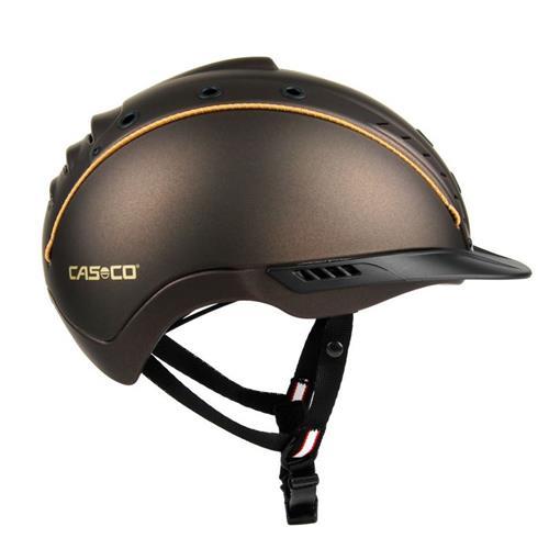 Jezdecká bezpečnostní přilba Casco Mistrall 2 - hnědá, vel. L (58-60) Přilba jezdecká CASCO, MISTRALL 2, hnědá, L 58-60