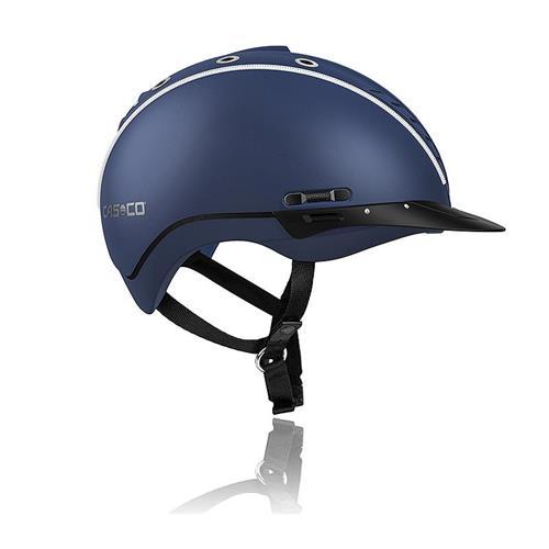Jezdecká bezpečnostní přilba Casco Mistrall 2 - modrá, vel. M (55-57) Přilba jezdecká CASCO, MISTRALL 2, modrá, M 55-57