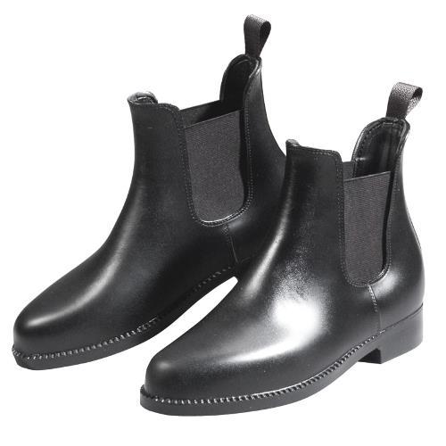 Gumová jezdecká perka ELT, černá - 30 Jezdecké gumové perka ELT, černé, vel. 30