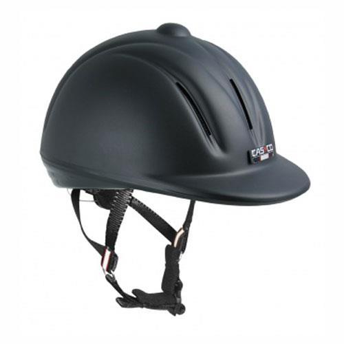 Jezdecká bezpečnostní přilba Casco Youngster, černá - vel. S ( 54-56) Přilba jezdecká CASCO, YOUNGSTER, vel. S ( 54-56)
