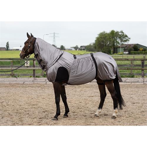 Ekzemová deka Harrys Horse, šedá - vel. 165 cm Deka ekzemová Harrys Horse, šedá, vel. 165 cm