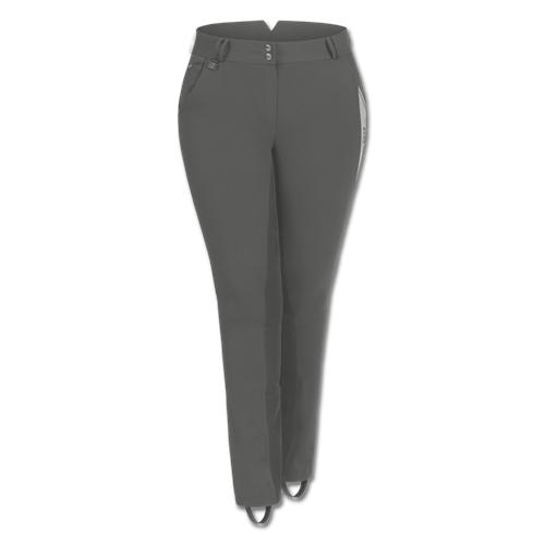 Dámské pantalony pro plnoštíhlé ELT Elena, šedé - vel. 50 Pantalony pro plnošt. ELT Elena, šedé, vel. 50