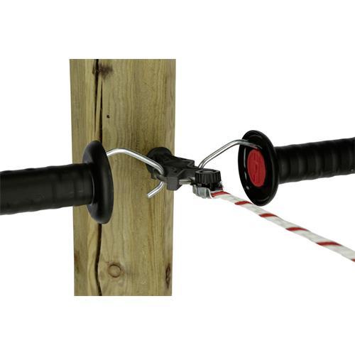 Izolátor pro elektrické ohradníky AKO X3 - Pozink Izolátor pro elektrické ohradníky AKO X3, ke vchodu s očkem, kompaktní