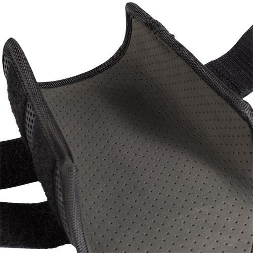 Drezurní kamaše Horze Impact, bílé / černé, pár - černé, vel. XL Kamaše drezurní Horze Impact, černé