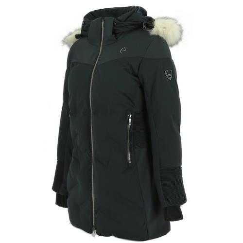 Dámský kabát Equi-Theme Voltige, modrý - vel. XL Kabát dámský Equi-Theme Voltige, modrý, vel. XL