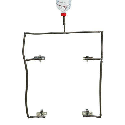 Napájecí ventil s upevněním na šrouby 9 mm pro napájecí systém pro králíky Napájecí systém.