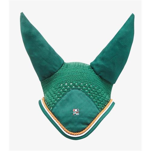 Čabraka na uši Premier Equine - zelená, XFull Čabraka Premier Equine, zelená, XFull