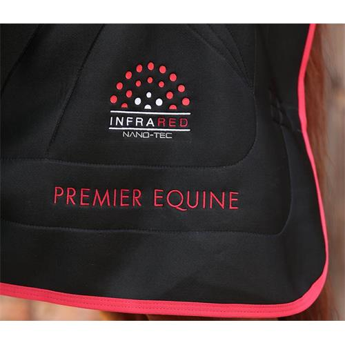 Deka Premier Equine Nano-Tec, černá - vel. 130 cm Deka Premier Equine Nano-Tec, černá,