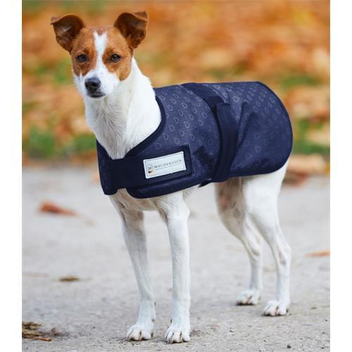 Obleček pro psy Waldhausen, srdíčka - 35 cm Deka pro psa zateplená, modrá se srdíčky.