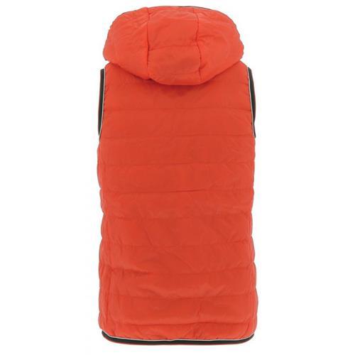 Dětská prošívaná vesta Equitheme, šedo-oranžová - 16 let Vesta dětská Equitheme, šedo-oranž, 16 let