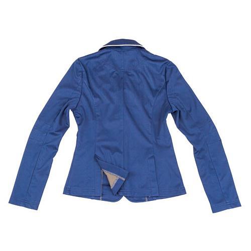 Dětské jezdecké sako Covalliero, modré - vel. 152/158 Sako dětské softshell, modré