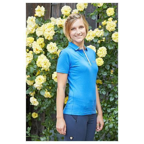 Dámské triko Covalliero Sophia, středně modré - vel. L Dámské triko Covalliero. Sophia, stř. modré
