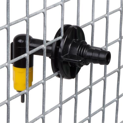 Napájecí niplový ventil s kolínkem pro napájecí systém 9 mm Ventil niplový napájecí pro systém 9 mm - vnější část.