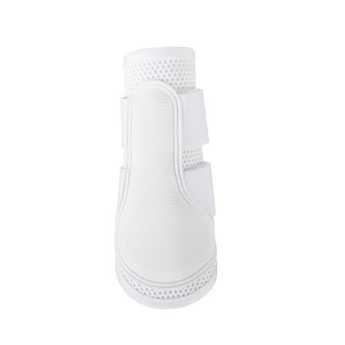 Drezurní kamaše Horze Impact, bílé / černé, pár - bílé, vel. M Kamaše drezurní Horze Impact, bílé
