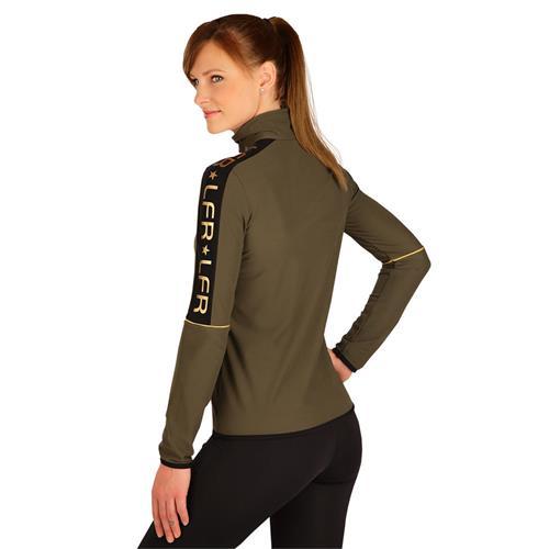Dámská mikina Litex, khaki - vel. L Mikina dámská na zip Litex, khaki, vel. L