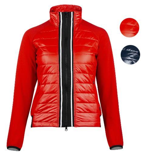 Dámská bunda Horze Robyn - červená, vel. 34 Bunda dámská Horze Robyn, červená, vel. 34