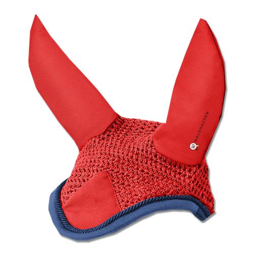 Čabraka na uši Waldhausen Esperia - červená, vel. Pony Čabraka na uši Esperia, červená