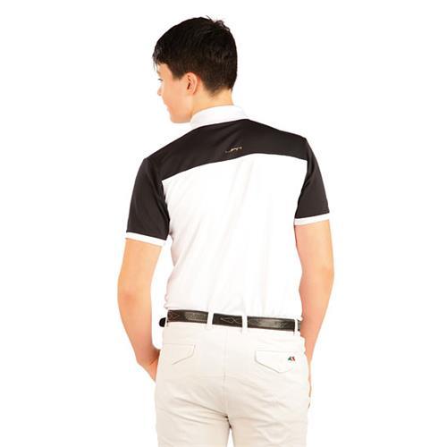 Pánské závodní triko Litex, bílo-černé - vel. S Triko pánské závodní Litex, bílo-černé