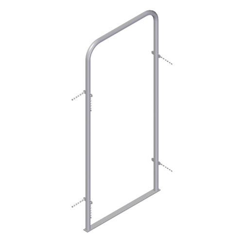 Rozpěrný rám vnitřní pro manipulační uličku 186 x 77 cm, pozink, 4 řetízky Rozpěrný rám vnitřní pro manipulační uličku 186 x 77 cm, pozink, 4 řetízky