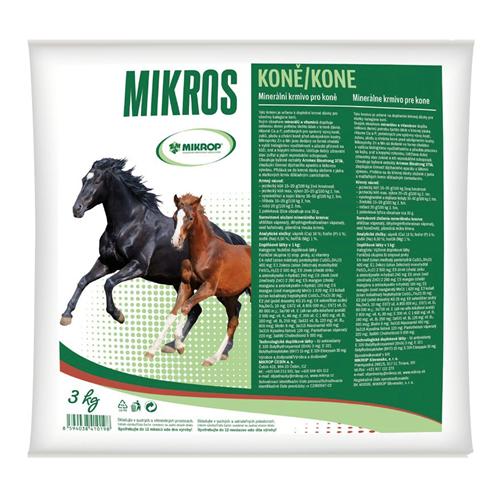 Minerální doplněk Mikros VDK, 3 kg Minerální doplněk Mikros VDK, 3 kg