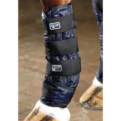 Chladicí kamaše pro koně Premier-Equine, modré - vel. L Kamaše chladicí Premier-Equine, modré