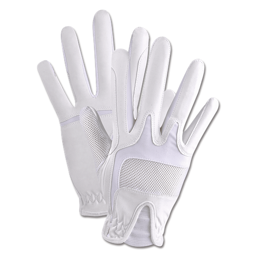Jezdecké rukavice ELT Nika, bílé - vel. S Rukavice jezdecké ELT Nika, bílé, vel. S XX