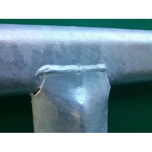 Panel ohradní pozink, 4 příčky, v. 1,45 m, řetízek, délka 2,05 m - odlehčená konstrukce Panel ohradní pozink, 4 příčky, v. 1,45 m, řetízek, délka 2,05 m - odlehčená konstrukce