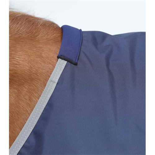 Nepromokavá deka Premier Equine Zero Buster, 0 gr, modrá - modrá, 135 cm Deka neprom. Premier Buster 0gr, modrá, 135cm