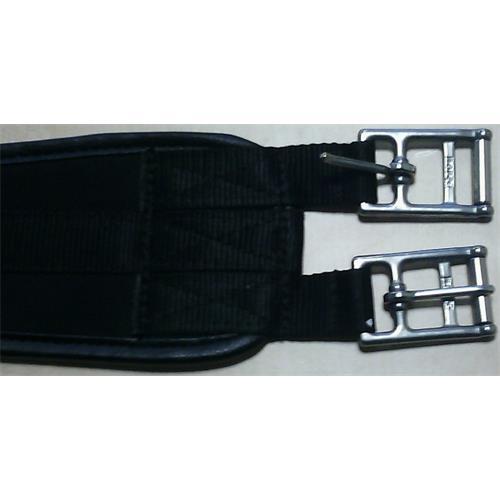 Nylonový podbřišník Horze, černý - 110 cm Nylonový podbřišník Horze, černý