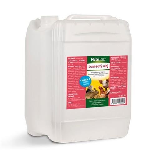 NutriMix lososový olej 5 l NutriMix lososový olej 5 l.