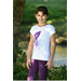 Dětské triko Equitheme Pégase, bílé