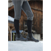 Zimní boty Equitheme, s kožíškem, černá