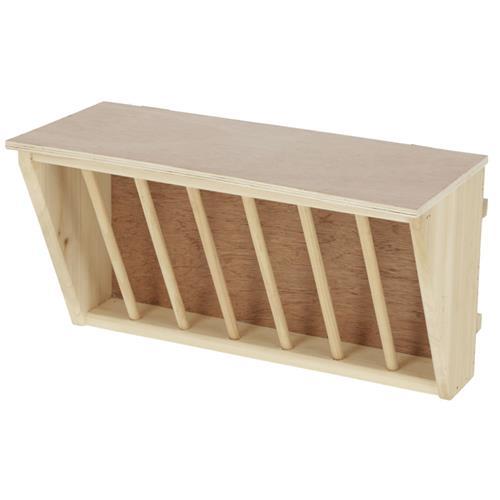 Jesle na seno pro králíky, dřevěné Jesle na seno dřevěné - prázdné.