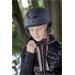 Jezdecká bezpečnostní přilba Equi-Theme Insert, černá - celočerná, vel. 55-57 Přilba jezdecká Equitheme Insert, celočerná, 55-57