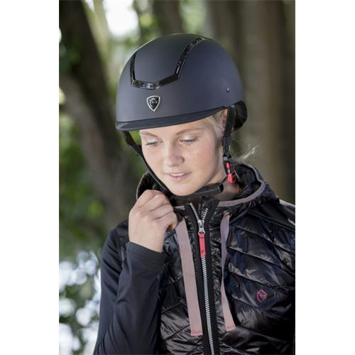 Jezdecká bezpečnostní přilba Equi-Theme Insert, černá - celočerná, vel. 58-60 Přilba jezdecká Equitheme Insert, celočerná, 58-60