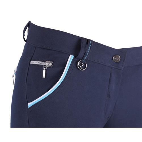Dámské rajtky QHP Jacklyn, tmavě modré - vel. 42 Rajtky dámské QHP Jacklyn, tm. modré