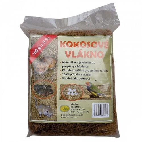 Robimaus kokosové vlákno, 100 g Robimaus kokosové vlákno, 100 g