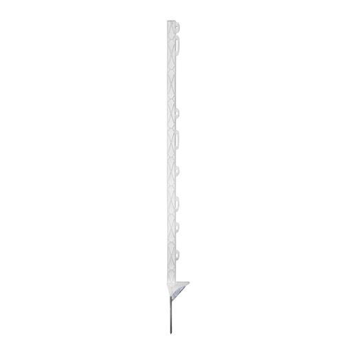 Tyčka pro elektrický ohradník AKO TITAN plus, plast bílý, 8 úchytů, 90 cm Tyčka pro elektrický ohradník AKO TITAN plus, plast bílý, 8 úchytů, 90 cm