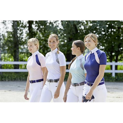 Dámské závodní triko Covalliero Lani - modré, L Triko dámské závodní Lani, modré