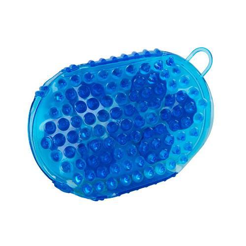 Rukavice masážní a čistící - modrá Rukavice masážní a čistící, modrá