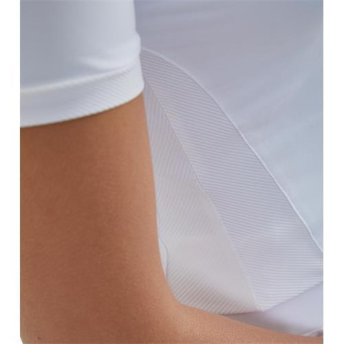 Dámské závodní triko Premier Bellisa, bílé - bílé, vel. M Triko závodní Premier Belissa, bílé, vel. M
