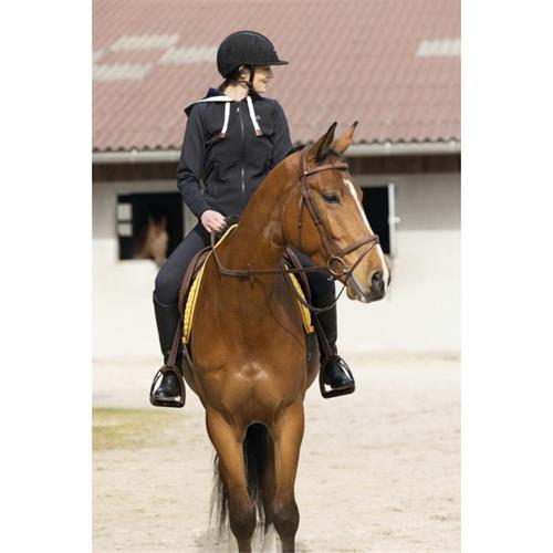 Dámská jezdecká bunda Equitheme  Phoebe, černá - vel. L Bunda dámská Equitheme Phoebe, černá, vel. L