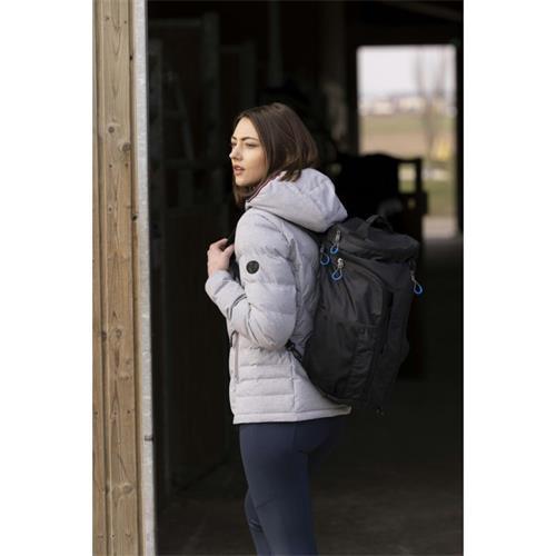 Dámská zimní bunda Equitheme Lara, šedá - vel. M Bunda dámská Equitheme Lara, šedá, vel. M