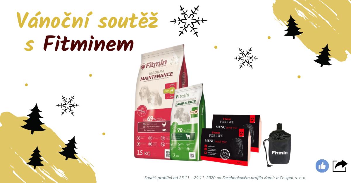 Vánoční soutěž na FB o produkty Fitmin